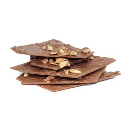 Cacos de Chocolate de Leite 35% com Amêndoa
