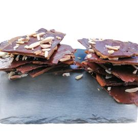 Cacos de Chocolate de Leite 35% com Amêndoa e Caramelo